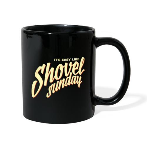 Shovel Sunday logo - Yksivärinen muki