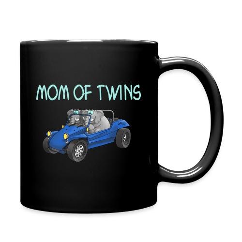 mom of twins - Tasse einfarbig