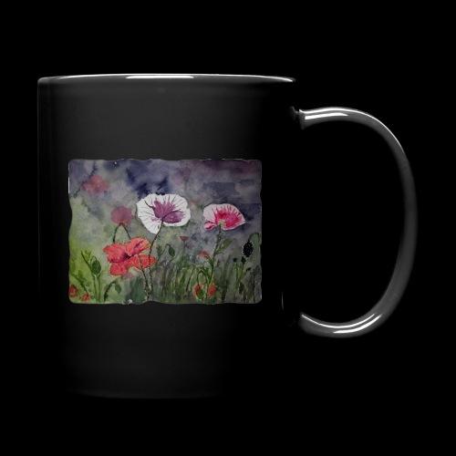 Mohnblume - Tasse einfarbig