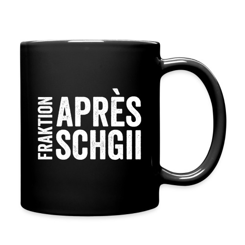 FRAKTION APRÈS-SCHGII - Tasse einfarbig