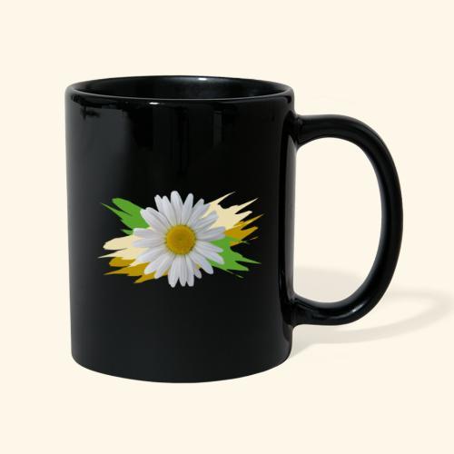 Margeriten Blüte, Blumen, floral, Gänseblümchen - Tasse einfarbig