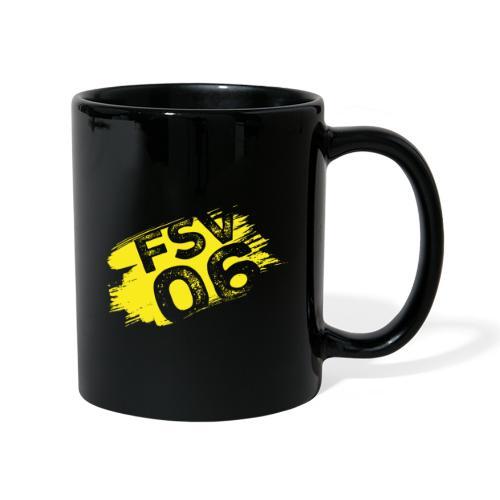 Hildburghausen FSV 06 Graffiti gelb - Tasse einfarbig