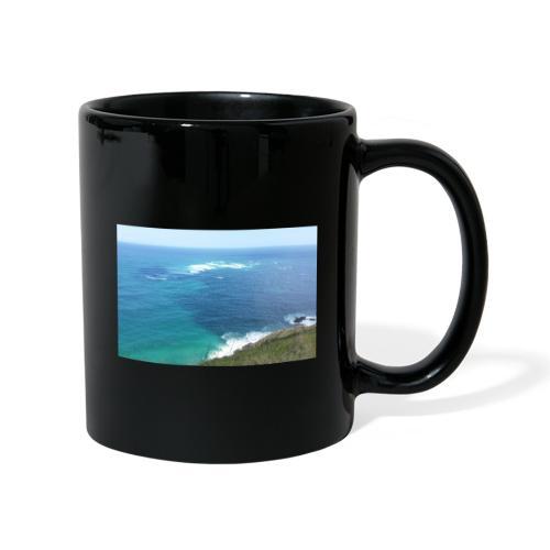 Pazifik türkis blau Natur - Cape Reinga Neuseeland - Tasse einfarbig