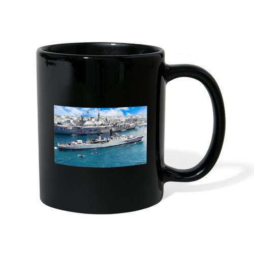 leopard and eagle oil1 - Full Colour Mug
