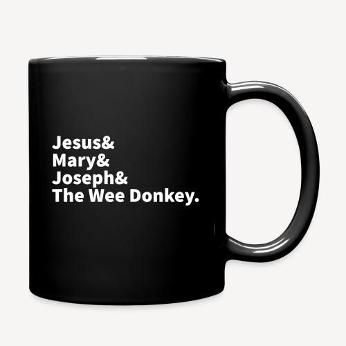 JESUS MARY JOSEPH AND THE WEE DONKEY - Full Colour Mug