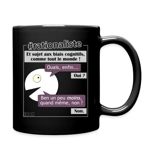 Rationalisme et biais cognitifs - Mug uni