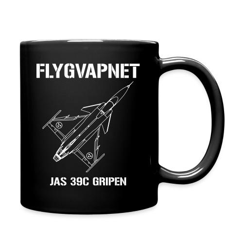 FLYGVAPNET - JAS 39C - Enfärgad mugg