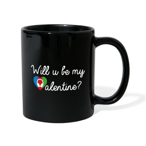 Valentine wht - Tasse einfarbig