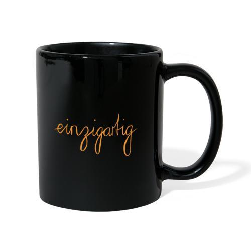 einzigartig - Tasse einfarbig