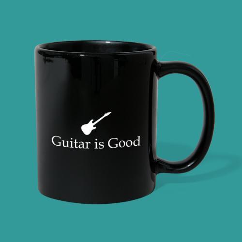 Guitar is Good Logo With Text - Full Colour Mug