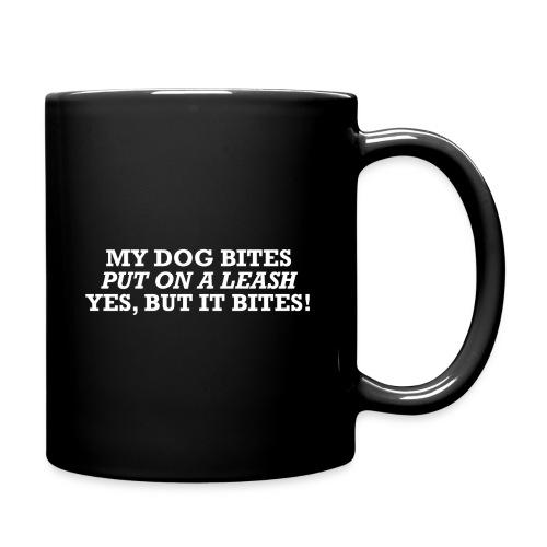 Chistes perros - Taza de un color