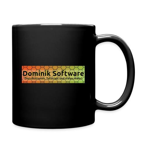 Dominik Software Banner - Tasse einfarbig