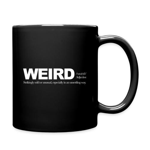 WIERD BW - Full Colour Mug