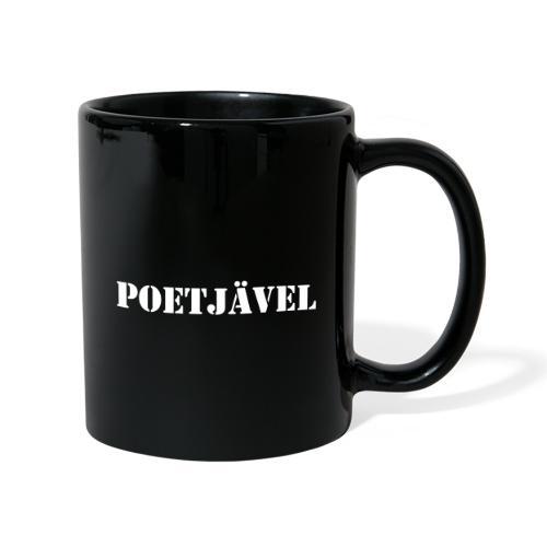 Poetjävel - Enfärgad mugg