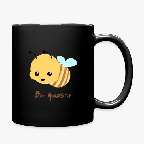 Bee Yourself - Ensfarvet krus