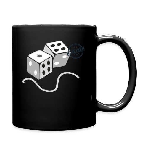 Dice - Symbols of Happiness - Full Colour Mug