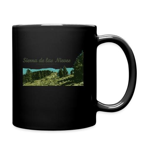 Sierra de las Nieves Parque Nacional - Taza de un color