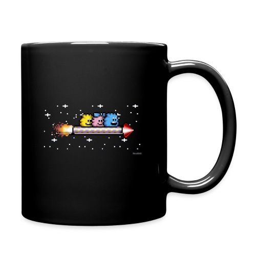 Raketenritt - Tasse einfarbig
