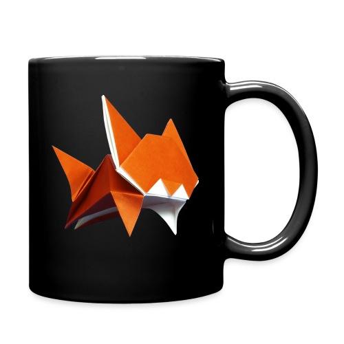 Jumping Cat Origami - Cat - Gato - Katze - Gatto - Full Colour Mug