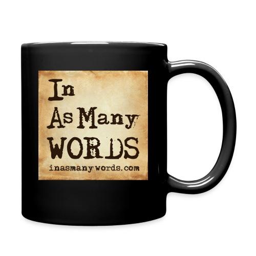 I AM Words LOGO_Brown - Full Colour Mug