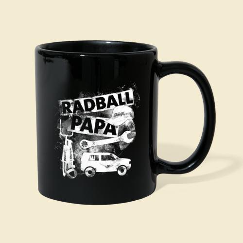 Radball   Papa - Tasse einfarbig