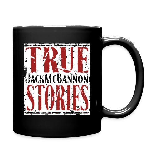 Jack McBannon - True Stories (RedWhiteBlack) - Tasse einfarbig
