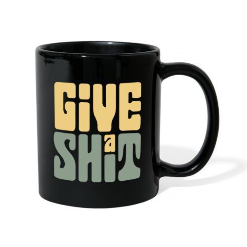 Give a shit - Enfärgad mugg