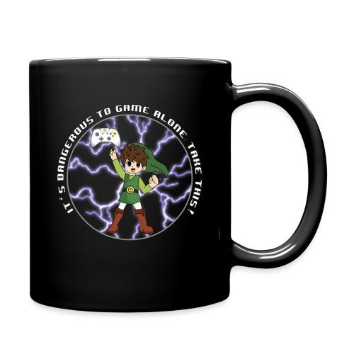 Dangerous To Game Alone - Full Colour Mug