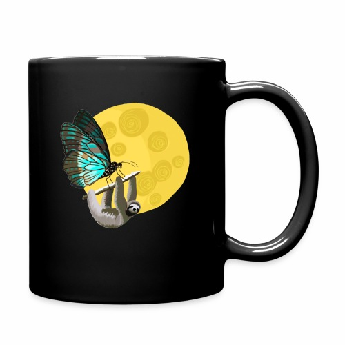 Fly me to the moon - Tasse einfarbig