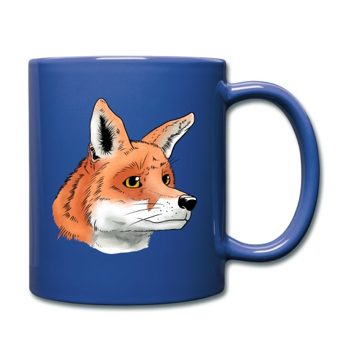 Fuchs - Tasse einfarbig