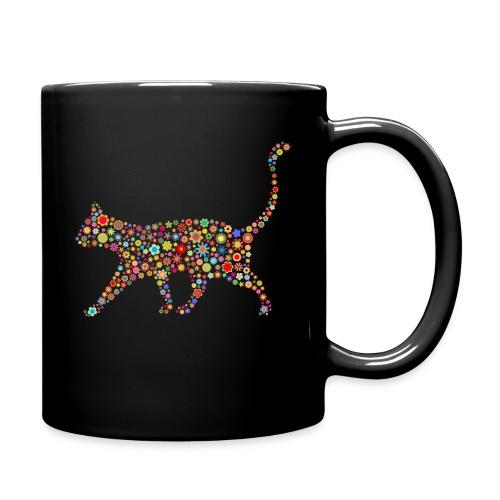 Vorschau: flower cat - Tasse einfarbig
