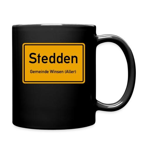 Stedden - Das Dorf am Rande der Lüneburger Heide - Tasse einfarbig