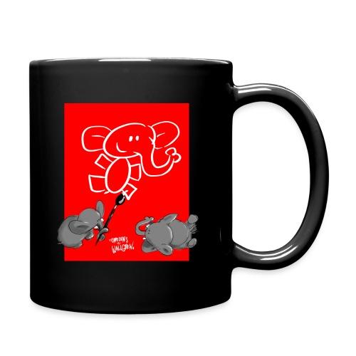 When elephants paints elephants (accesories) - Enfärgad mugg