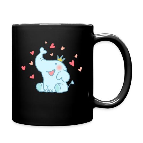 Eléphant amoureux - Mug uni