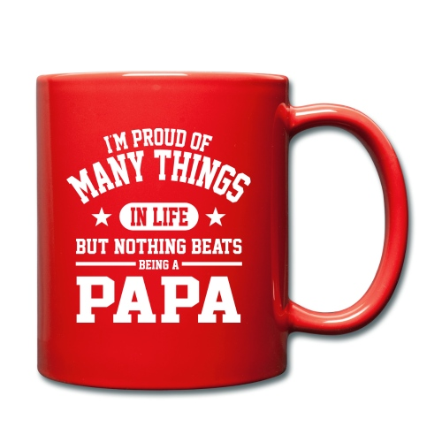 Proud To Be Papa - Full Colour Mug