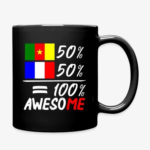 Moitié Français moitié Camerounais - Tasse einfarbig