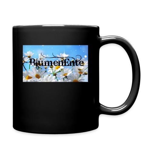 BlumenEnte - Tasse einfarbig