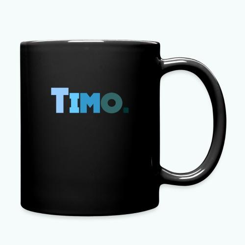 Timo in blauwe tinten - Mok uni