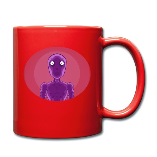 Shocked Alien Design! - Full Colour Mug
