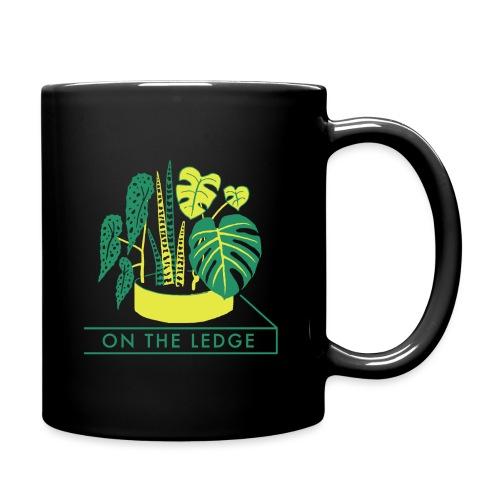 On The Ledge green logo print - Full Colour Mug