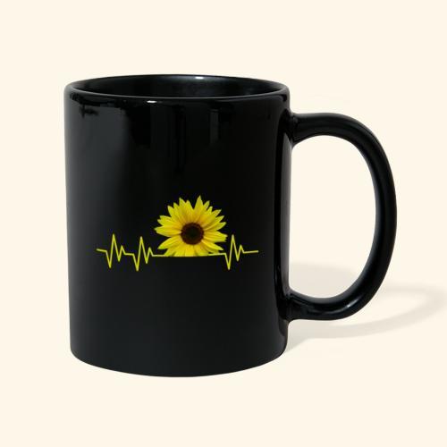 sunflowerbeat - zauberhafte Sonnenblume - Tasse einfarbig