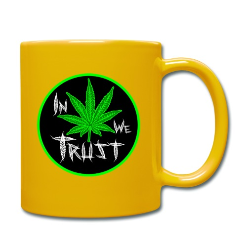 In weed we trust - Taza de un color