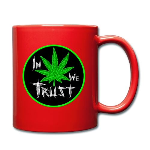 In weed we trust - Taza de un color
