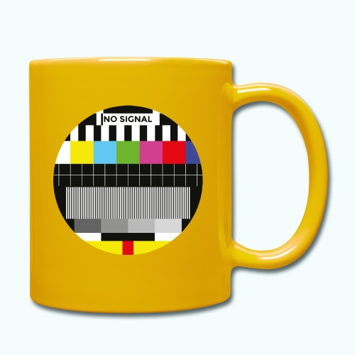Vintage test pattern - Full Colour Mug