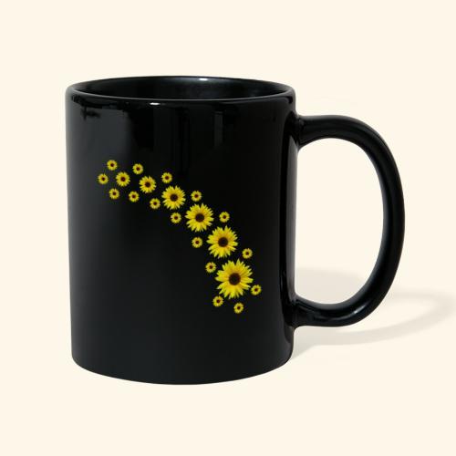 Sonnenblumen, Sonnenblume, Blumen - Tasse einfarbig