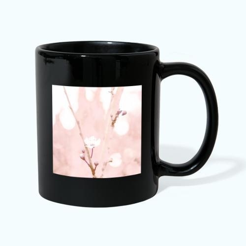 Cherry tree watercolor minimalism - Full Colour Mug