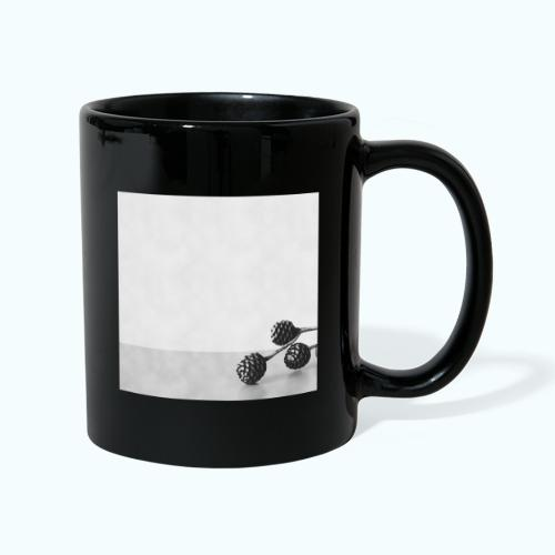 Gray minimalism composition watercolor - Full Colour Mug