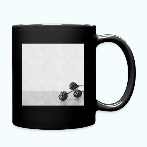 Gray minimalism composition watercolor - Full Colour Mug