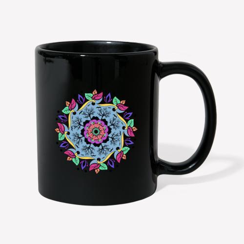 Autumn Mandala - Tasse einfarbig
