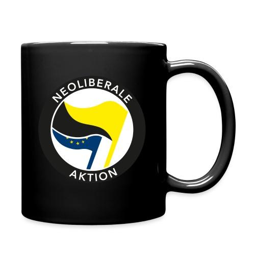 Neoliberale Aktion! - Tasse einfarbig